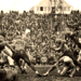 Old football game photo