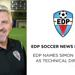 Simon Collins, Technical Director, EDP Soccer