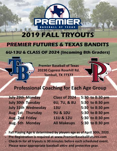 Premier Baseball of Texas Sports Complex