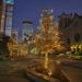 Downtown Mpls Nicollet Winter Lighting December 2020