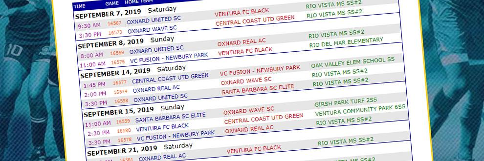 Coast Soccer League