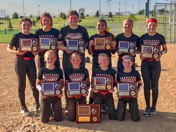 Nebraska Quakes Softball