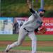 Photo Caption: Boulders starter David Palladino threw a complete game shutout in game two against the New Jersey Jackals on Saturday, giving up eight hits and three walks while striking out six. (Photo Credits: Drew Wohl, Rockland Boulders)