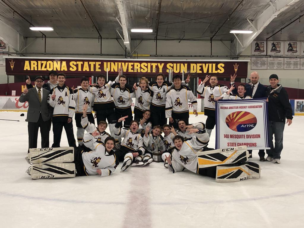 14U Mesquite 2018-19 State Champions - Jr Sun Devils 14U Gold