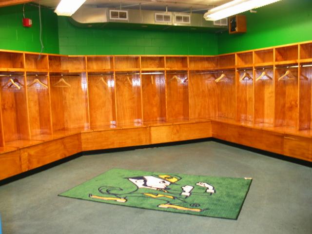 High School Boys Locker Room