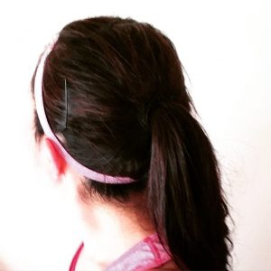 Picture of a ponytail