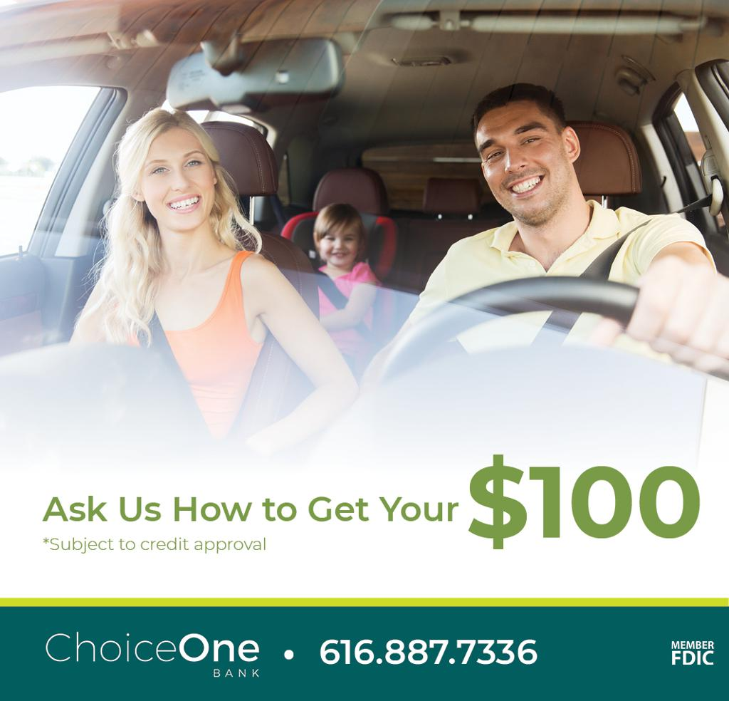 Refinance your auto loan and get a $100 Gift Card! Apply online, visit, or call us 24/7 to get your gift card.
