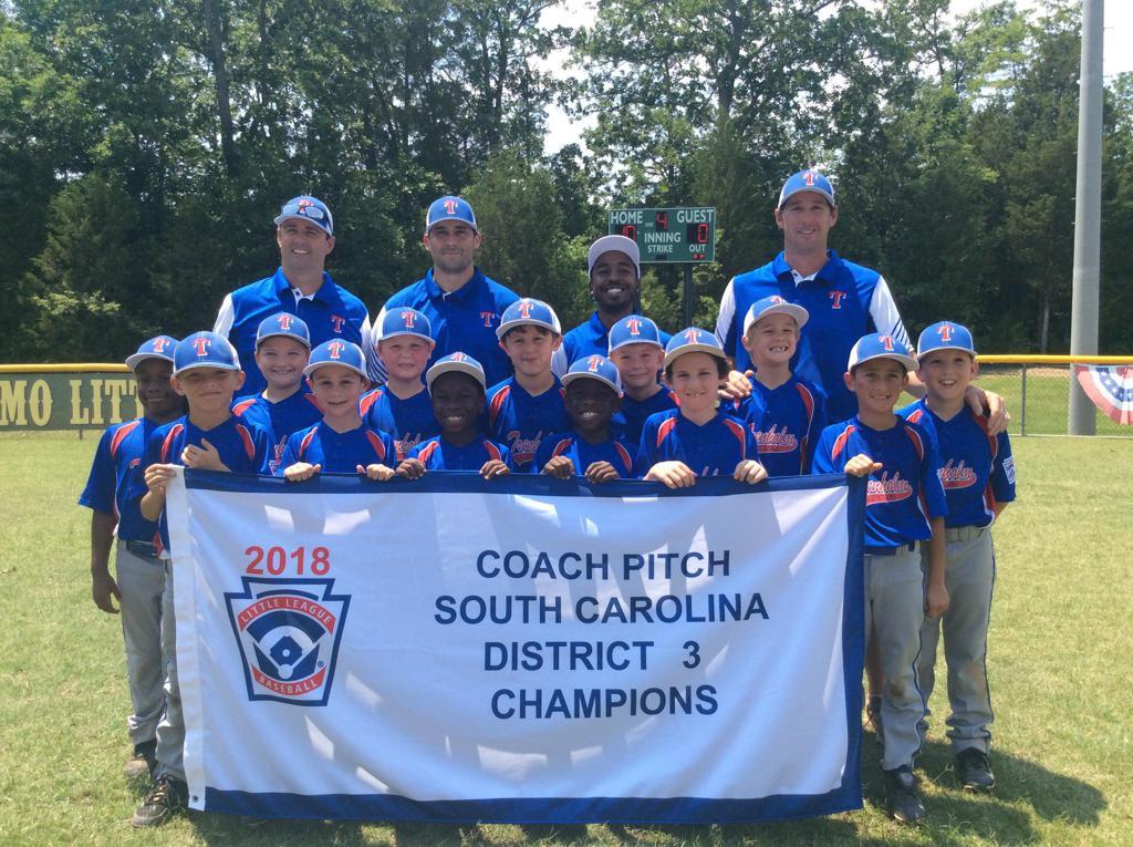 Trenholm Blue - 2018 South Carolina LL District 3 CPBB Champs