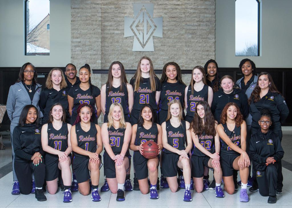 2019-20 Girls Varsity Basketball Team