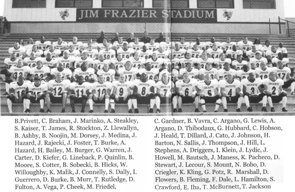 1999 Football Season