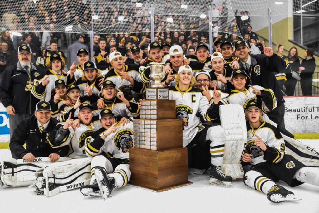 Congratulations to the 2019-2020 Montour Spartans Varsity Team!!! 1st Penguins Cup in School History