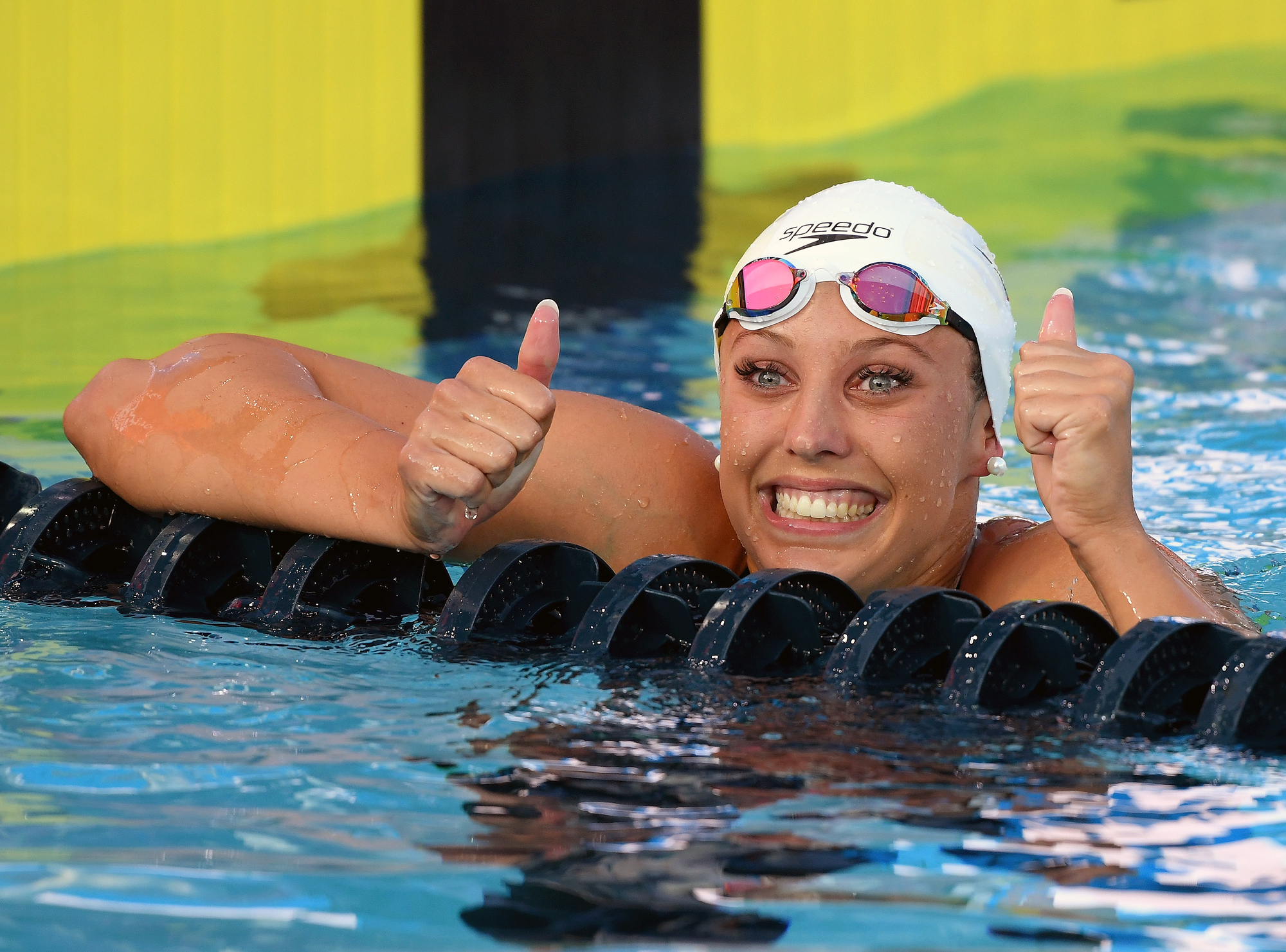 3be06d8e90b6a Kathleen Baker Refuses to Let Crohn's Disease Interfere with Swimming Goals