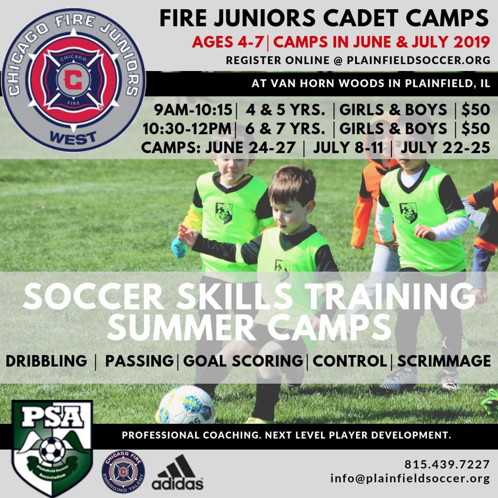 Fire Juniors Cadets