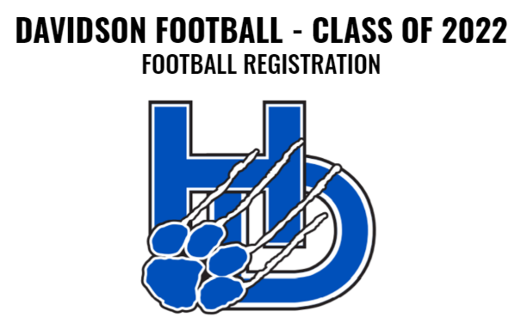 Football Registration: Class of 2022