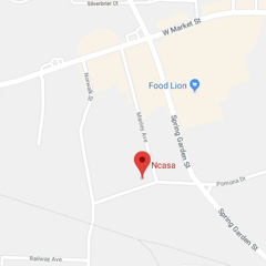 Map of NCASA Office