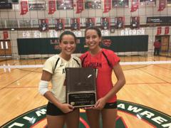 Christina and Jenna Dal Santo named to the 2017 MaxPreps Small Schools All-American Second Team!