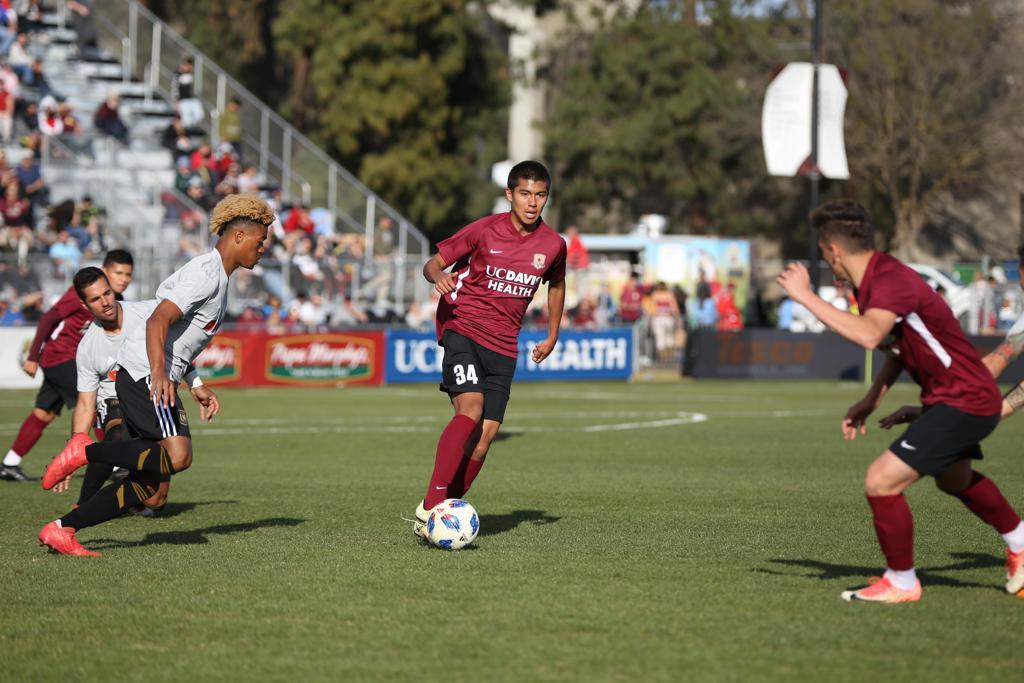 Esteban Zepeda, Sacramento Republic FC Academy player