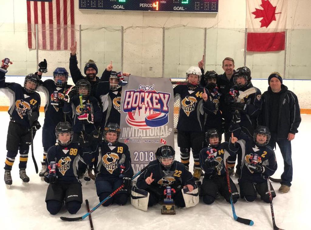 Peewee 1 Pepsi Tournament Victory March 18th 2018