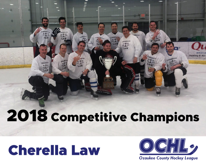 2018 Competitive League Champions - Cherella Law