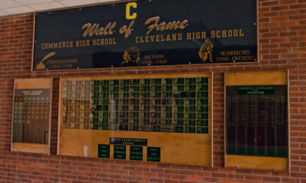 CHS wall of fame