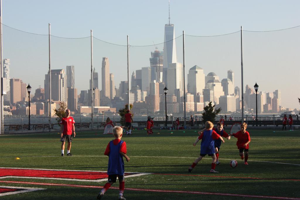 Soccer on Sinatra Field