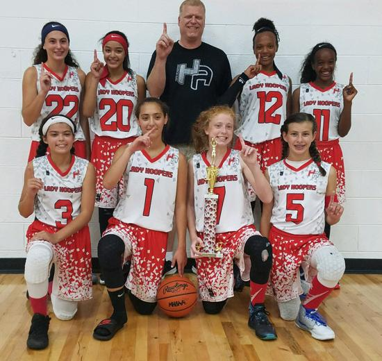 HYPE Back to School Bash 14u 1st Place August 2017