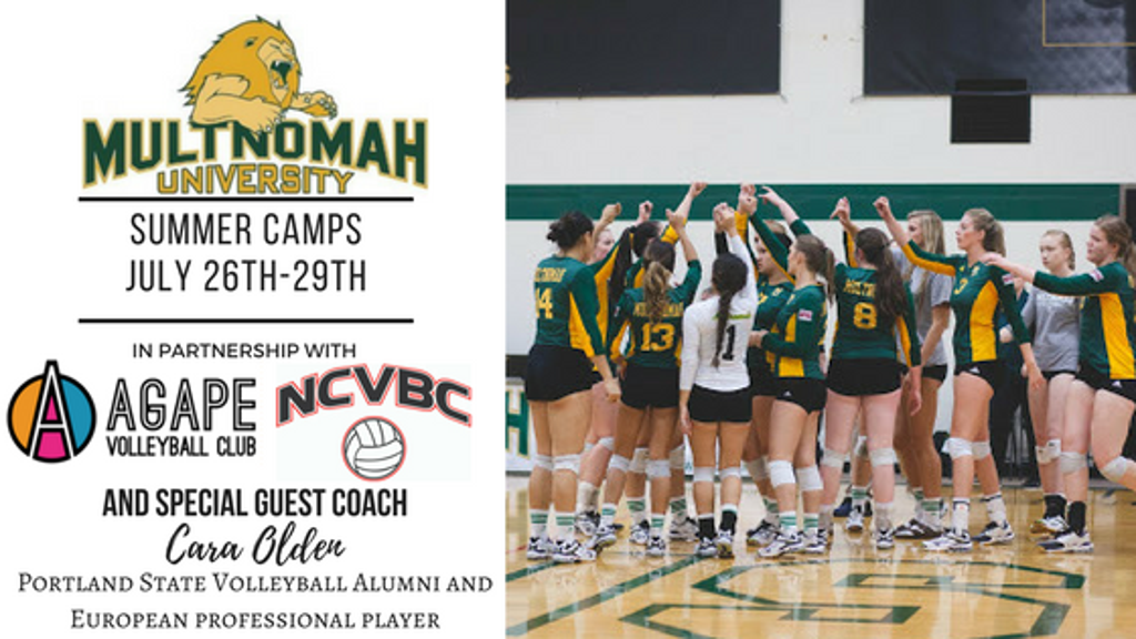 Multnomah University Summer Volleyball Camp