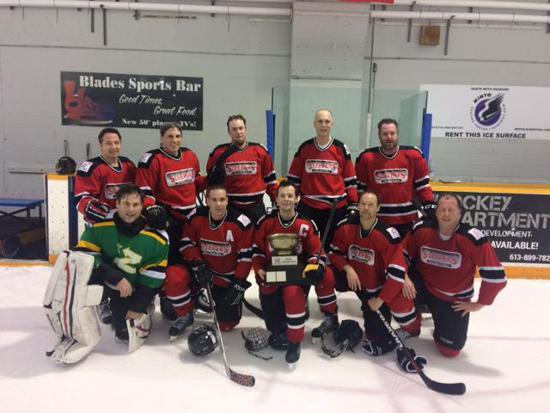 hockey Minto league adult