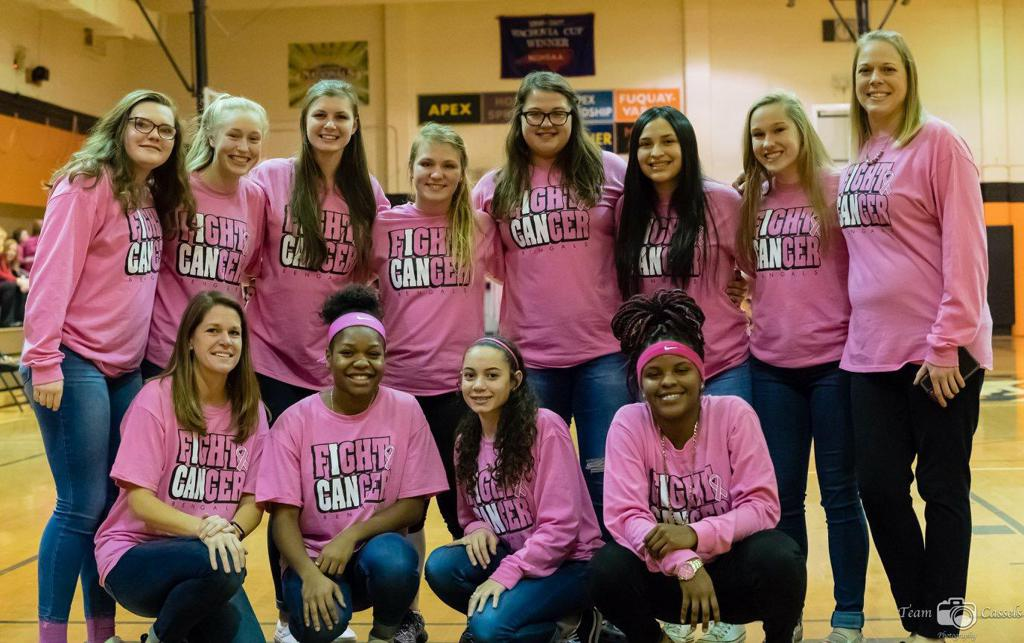 Thank you to everyone who supported our Annual Pink Game!
