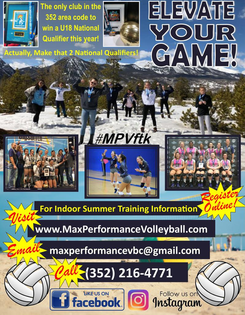 Elevate Your Game at MAX Performance Volleyball Ocala