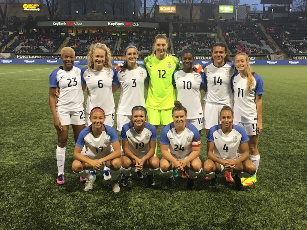 From EDP to the U S  Women's National Team: The Sky Is The