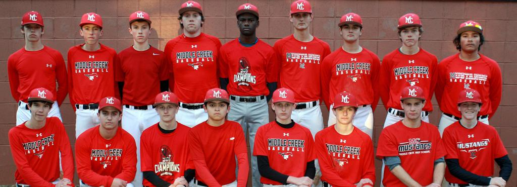 2017 Middle Creek JV Baseball