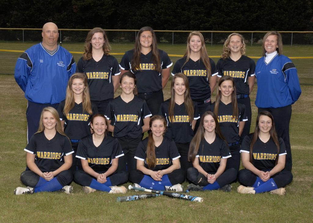 east wake softball team photo