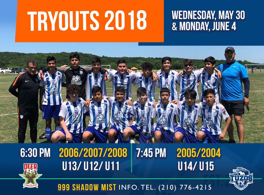TRYOUTS 2018