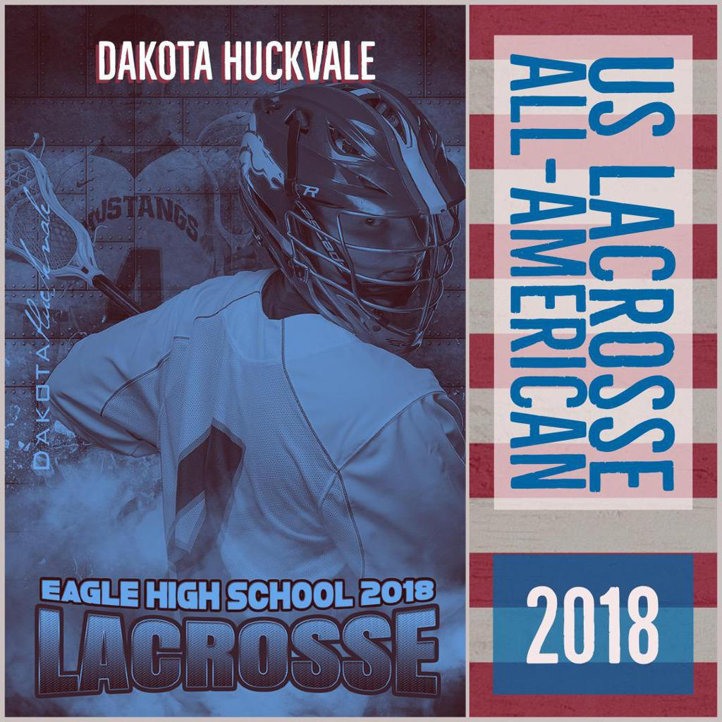 Dakota Huckvale:  US Lacrosse All-American
