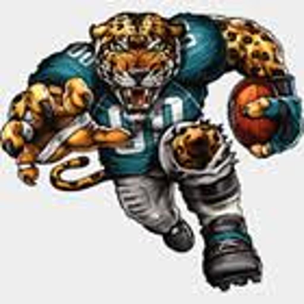 Jacksonville Jaguar Mascot Cake