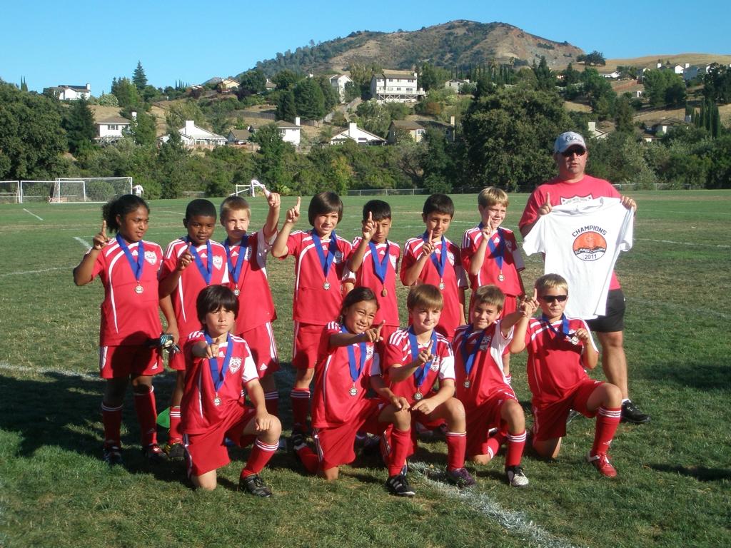 VUSC Galaxy U11 Boys win Diablo FC Summer Challenge Championship