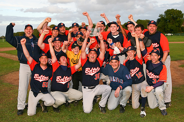 Bolton Robots of Doom won the AA final, beating the Latin Boys in ten-innings