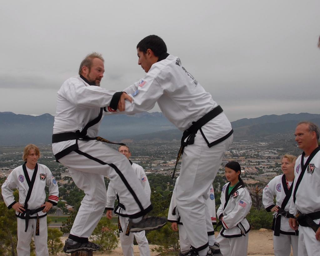Battling Master Jones on Mt. Park at MSK Summer Expo XXV