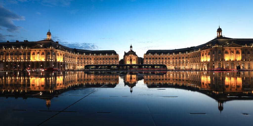 Miroir d'Eau at Bordeaux