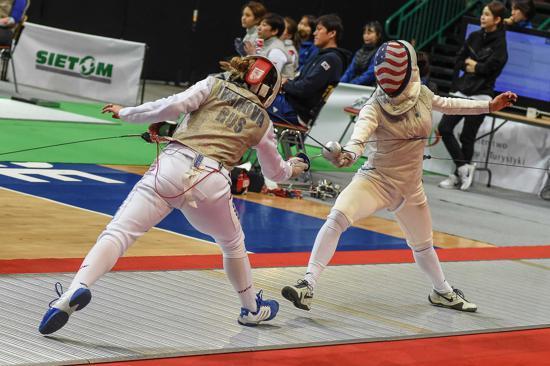 U S Women S Foil Team Earns First Ever World No 1