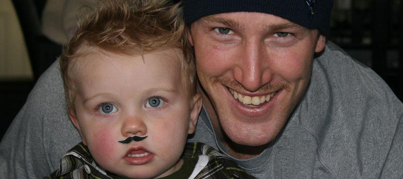Tyler Burton mustache
