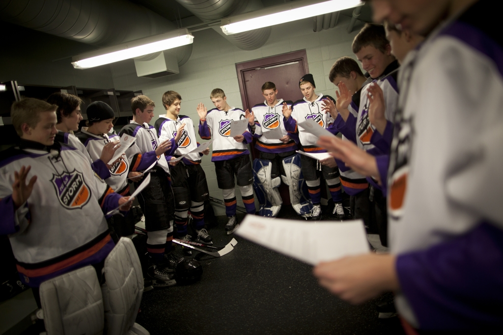 fffe60695 Minneapolis Storm Bantam A youth hockey players recited