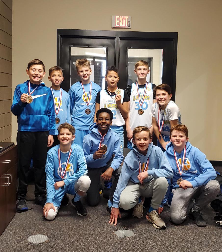 Boys 6th Grade Gold take take 3rd Place at Concordia Golden Bears Classic. Way to go Lakers! #MplsLakers #MplsLakersBasketball
