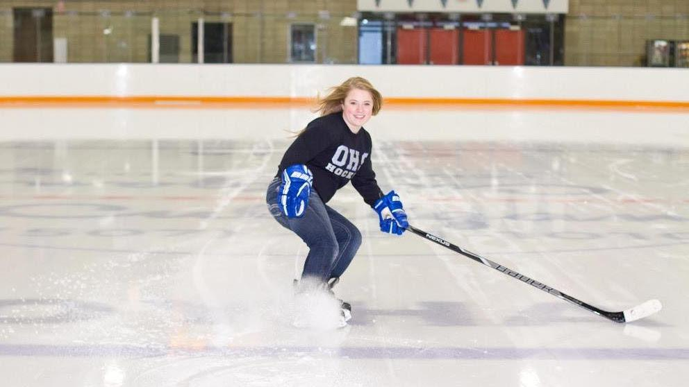 Spatenka is a former hockey player who received her master's degree in sport and performance psychology in 2019. She is the first full-time mental performance specialist for Team Colorado girls. All photos submitted by Lauren Spatenka