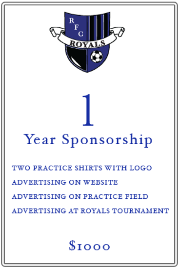 1 Year Sponsorship Information