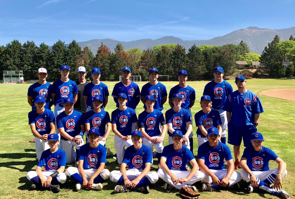 2018 Coastal Cubs HS Team