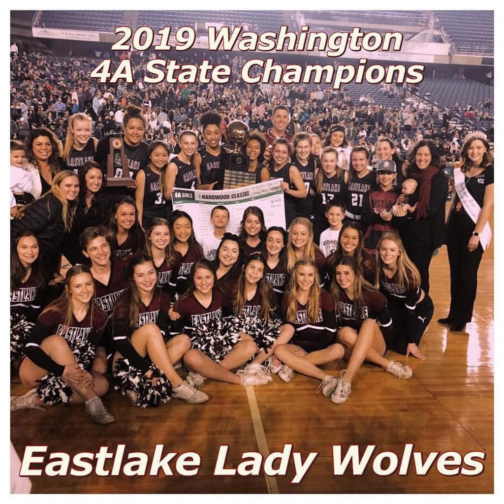 2019 Washington 4A Girls State Champions