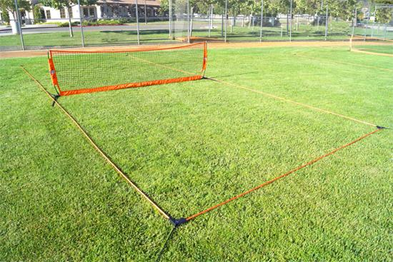 12' soccer tennis court