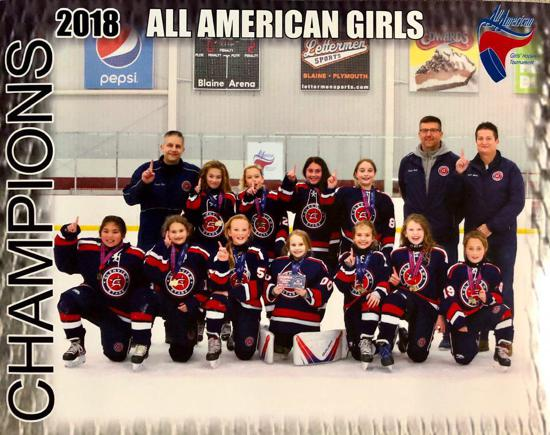 U10 Girls win championship!